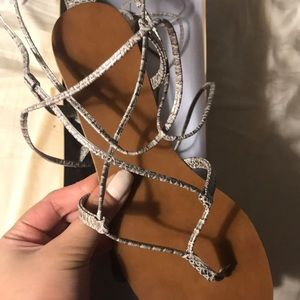 Mossimo Supply Co. Shoes - Lace up gladiator Sandals